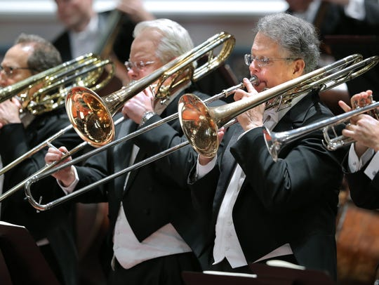 The Indianapolis Symphony Orchestra performed a piece