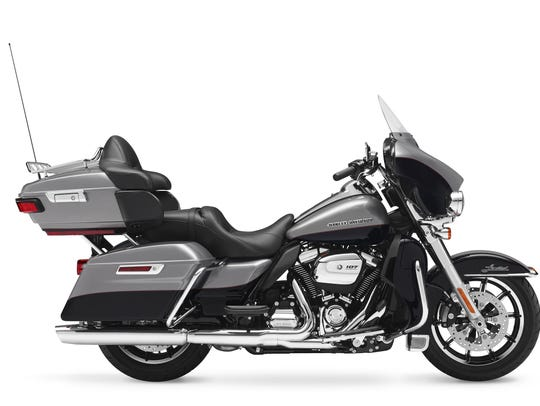 The 2017 Harley FLHTK Electra Glide Ultra Limited.