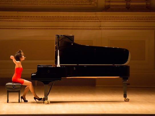 Pianist Yuja Wang.