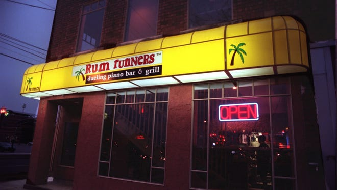 Rum Runners in downtown Lansing, Jan. 3, 1997.