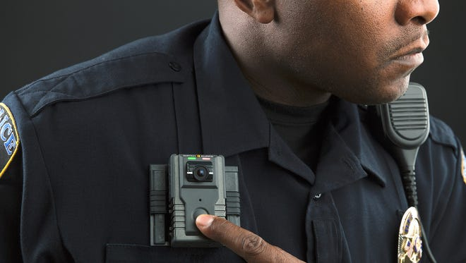 Des Moines police have chosen the Watch Guard body camera model. Photo by Watch Guard.