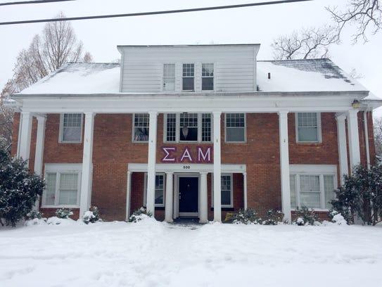 Sigma Alpha Mu fraternity house in Ann Arbor.