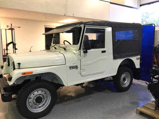 Mahindra has the license to build and sell Jeeps in