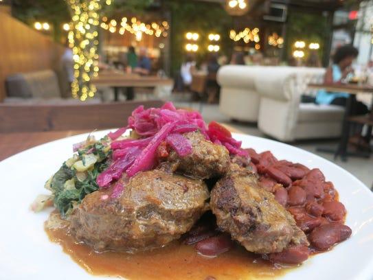 "Called ""Pork & Beans"" on the Townhouse Detroit menu,"