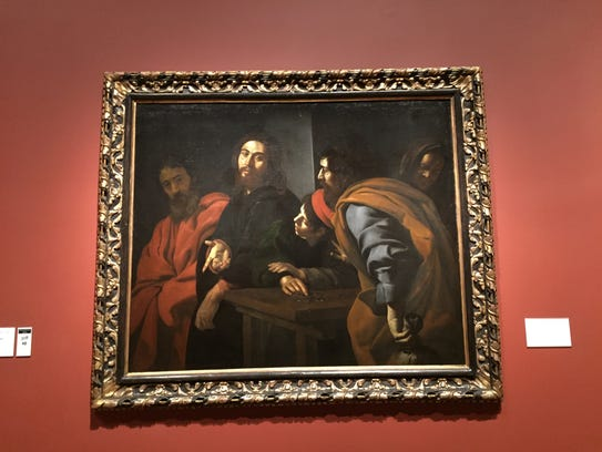 """""""Christ and the Woman Taken in Adultery,"""" by Pietro"""
