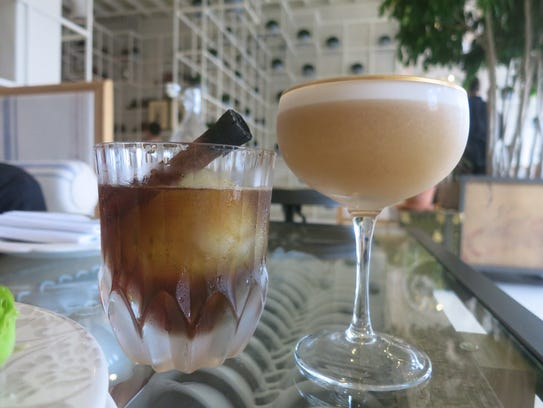 Craft cocktails at La Dulce in Royal Oak include the