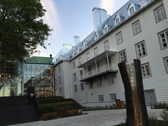 New hotel, Le Monastere des Augustines, in Quebec City