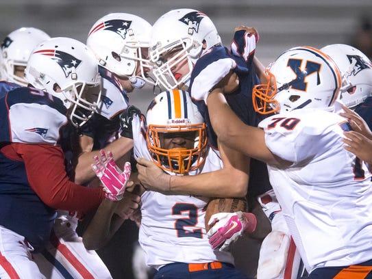The William Penn football program went 0-10 in 2015,