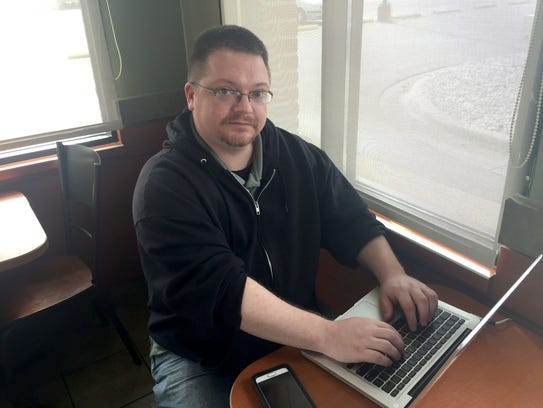Self-published E-book author Boyd Craven of Grand Blanc