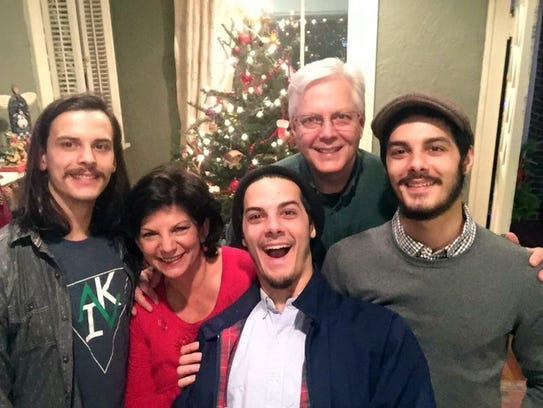 Jon and Janet Summers were in Gatlinburg with their three sons, Branson and twins Wesley and Jared, to celebrate the twins' birthday.