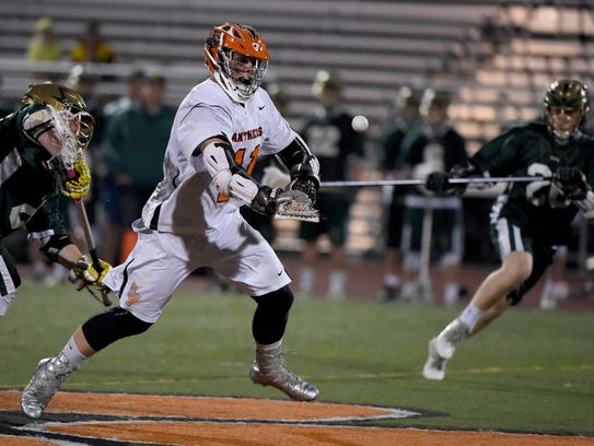 Central York's Kollin Vaught recently verbally committed