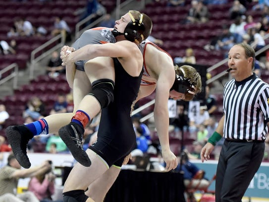 Delone Catholic's Brian Shermeyer won in a District