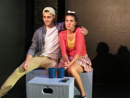 """Jake Rydell and Alayna Patten in """"Cushie"""" at the 2016"""