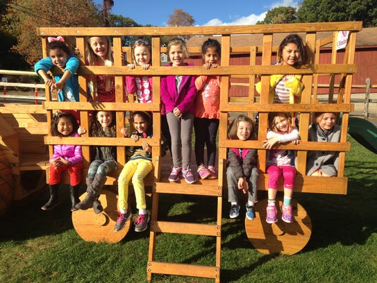 Daisy Troop 96855 went on a hayride and pumpkin picking