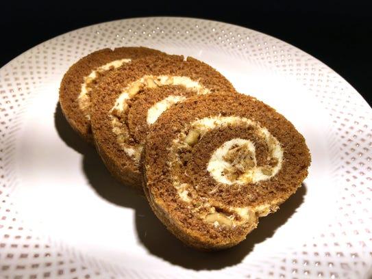 Pumpkin Ginger Crunch Roll