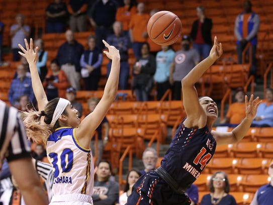 UTEP defeated CSU Bakersfield 67-56 during a matinee