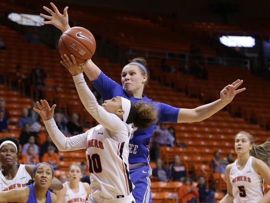 UTEP fell 54-45 to Middle Tennessee on Saturday at
