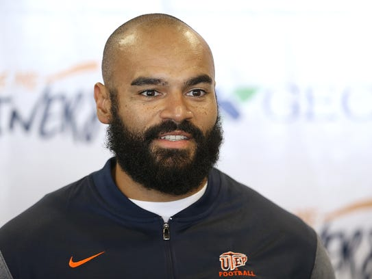 UTEP's new Director of Strength and Conditioning Kevin
