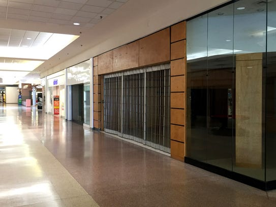 The inside of Eastland Center mall on Oct. 20, 2015