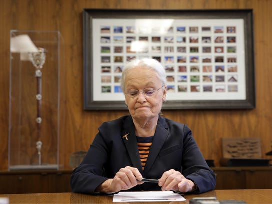 UTEP President Diana Natalicio on Tuesday discusses
