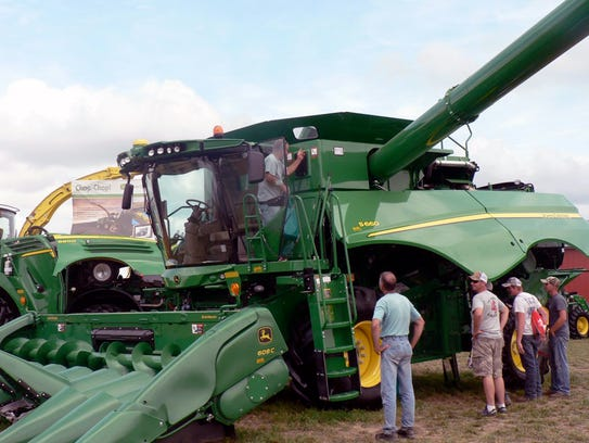Big equipment means more cropping done in less time