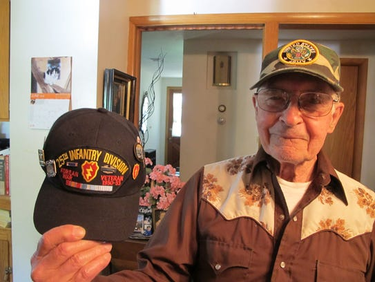 Don Schrock served in the Army's 25th Infantry Division