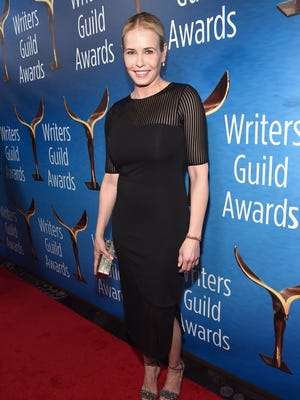 Chelsea Handler at the 2017 Writers Guild Awards L.A. Ceremony on Feb. 19, 2017.