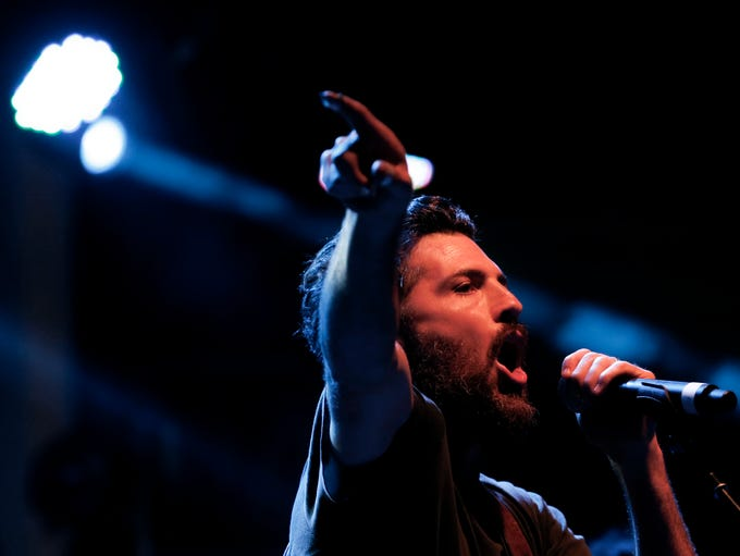 The Avett Brothers close out day one of this year's
