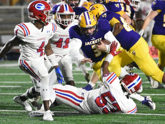 Byrd vs. Evangel Friday evening, November 16, 2018,