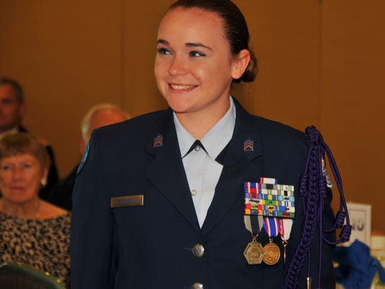 Brittany Flanagan, from Space Coast Jr/Sr High School will attend the United States Air Force Academy. She is third generation Air Force.