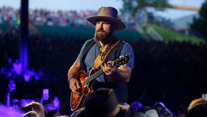 The Zac Brown Band performs at the Marcus Amphitheater at Summerfest on June 28, 2015. The band returns to headline at Summerfest July 1, 2017.