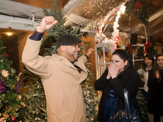 """Akil and Shleen Lyle, who got engaged at the premiere of """"Nashville's Nutcracker"""" in 2008."""