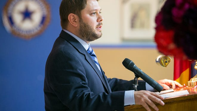"""U.S. Rep. Ruben Gallego proposed legislation to allow """"dreamers"""" to serve in the armed forces."""