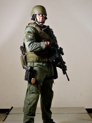 Member of the Great Falls Police Department High Risk Unit.