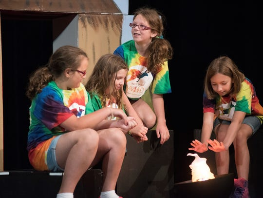 """Children will learn all about theater at Corban University's """"Open Roads, Open Doors"""" Theatre Camp, July 23 to Aug. 4."""