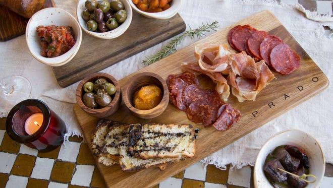 A variety of tapas from Prado.
