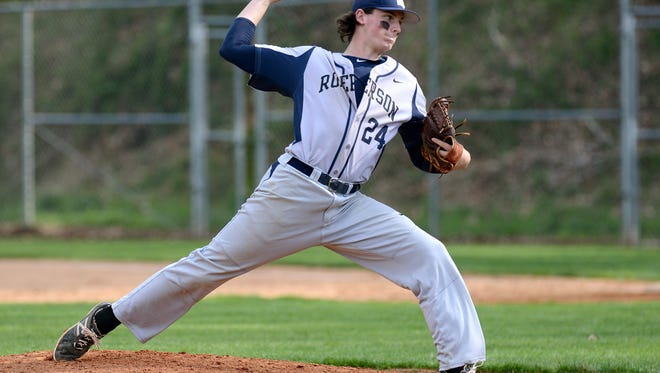 Roberson's Garrett Blaylock picked up a save in Tuesday's game at McDowell.