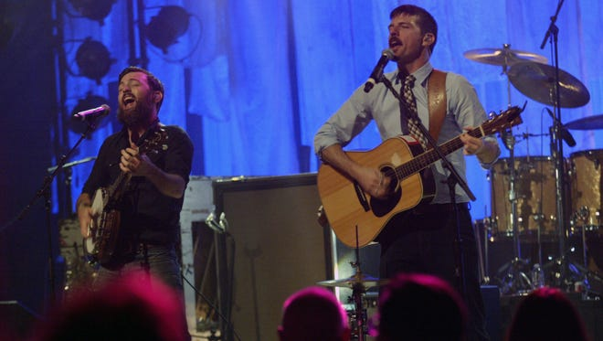 The Avett Brothers played a sold out show at the Weill Center Sunday night in Sheboygan.