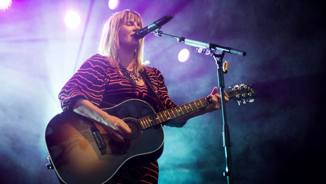 Grace Potter performed two sets at her Grand Point North festival in 2017 and surprised many fans by revealing her pregnancy.