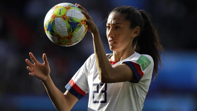 United States' Christen Press used the missed penalty kick in 2016 Rio Olympics as a motivation in her career.