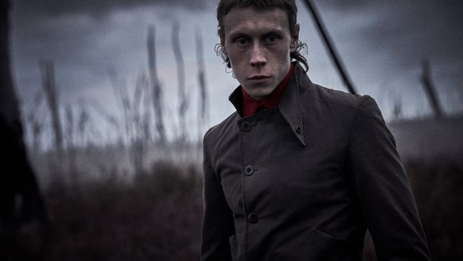 "George MacKay stars as Ned Kelly in ""True History of the Kelly Gang."""
