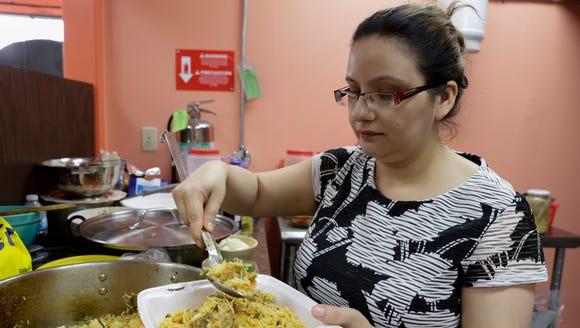 Co-owner Juhi Shah at Bismillah Groceries and Kitchen