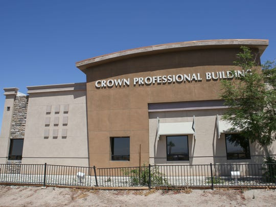 The Crown Professional Building in Imperial, California. Before he became the Imperial Irrigation District's general counsel, Frank Oswalt owned this building with his wife Jean and leased it to ZGlobal, which housed its Imperial Valley office there.