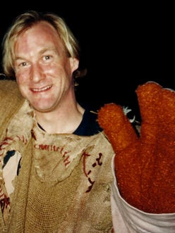 John Paul Henson, best known for playing Sweetums the ogre, died Friday at age 48.