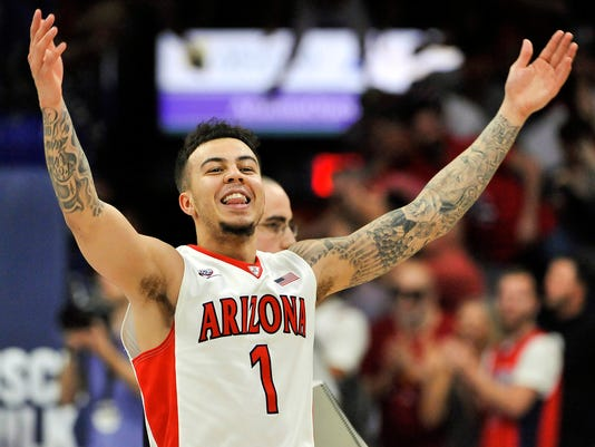 NCAA Basketball: California at Arizona