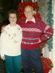 Bill and Peggy Germiller are shown in Poughkeepsie.