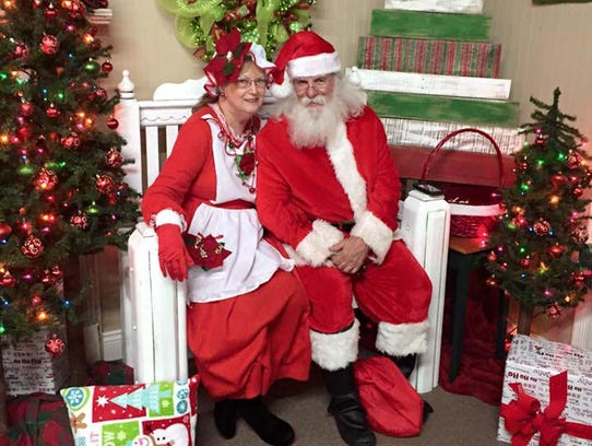 Santa and Mrs. Claus are inviting everyone to come