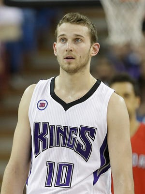 Sacramento Kings guard Nik Stauskas.