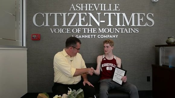 Asheville High senior Noah Shore is the latest winner of the Mission Health Spotlight Performance of the Week award.