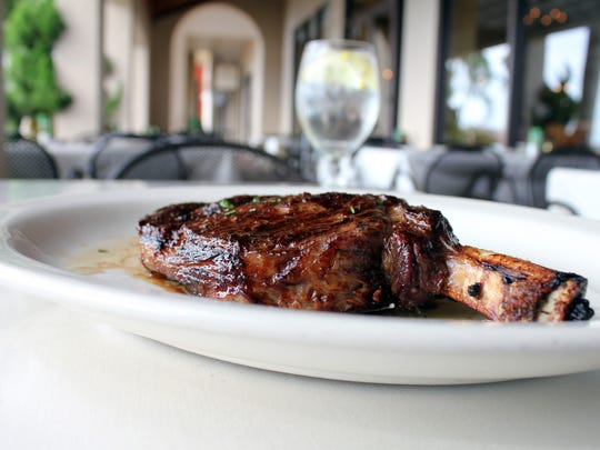 The bone-in ribeye steak is this week's suggested pairing at chop239.